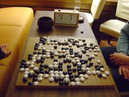 The game of GO by weida34