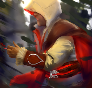 Assassins creed painting by cutecat54546