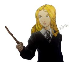 Luna Lovegood by MikeES