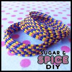 Rainbow Raver KANDi CUFF Rave Bangle Set by SugarAndSpiceDIY