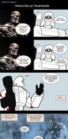 Terminators and Transformers by Comics-in-Disguise