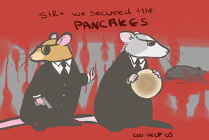 RAT PANCAKES by Helix-Wing