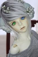 Say hello to my new boy Lucifer BJD Napidoll by GoldenDiamonds