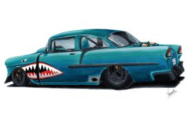 Chevy 55 Prostreet by vsdesign69