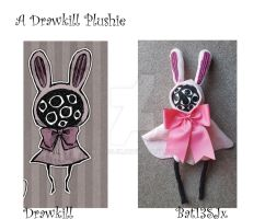 A Drawkill Plushie  (Eyeball puppet) by Bat13SJx
