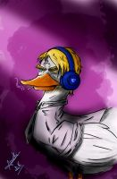 The Duck Among Us - Big Bad Pewduck by ana-k89
