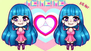 Me!me!me! Chibi by A-I-K-art