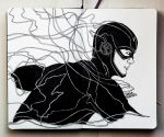The Flash BW by SuperImki