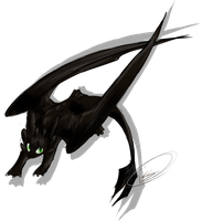 Toothless by Sukkol