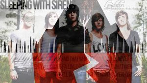 Sleeping with Sirens Wallpaper II by lovidation