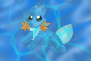 Day 3: Mudkip by maesday