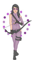 Hawkeye by ChristinaGoing
