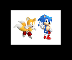 Sonic Generations- Classic Duo by JDSlasha