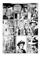 Van Helsing Vs. Jack the Ripper p.15 by BillReinhold