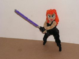 Mara Jade by fuzzyfigureguy