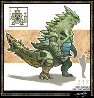Tyranitar!  Pokemon One a Day, Series 2! by BonnyJohn