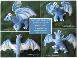 -Knitting- Apsu the Dragonet by LadyTemeraire