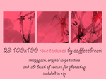 29 100x100 rose textures by jerseynoland