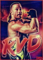 ROB VAN DAM - poster by TheIronSkull