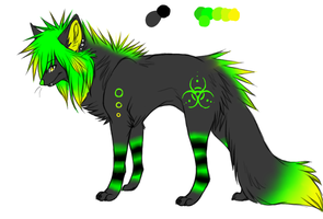 Scene Dog Adoptable :CLOSED: by Mallphilin