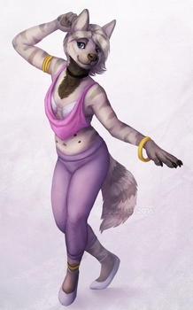 [Commission] Sapphire by Scaleeth