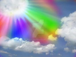 Rainbow from Heaven by Missionpb