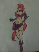 Scarlet The Fox Demon by gethro92