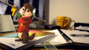 The chipmunks-Alvin by Su-frank