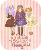 Commission: Venezuelan lolitas by SpeedyHaley