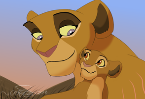 Kiah and Kula by KoLioness