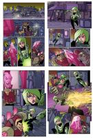 Sci-Fi sample pages colors by natelovett