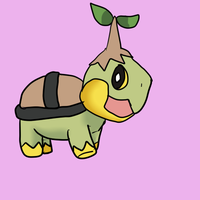ryan the turtwig~ by InuLover097