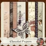 juno Chocolat Papers Preview by junosplace