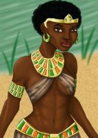 Nile Valley beauty By Jabrosky colored by BonbonVert