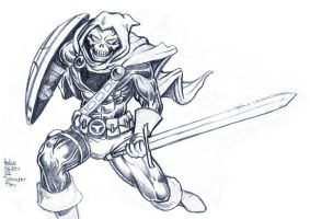 Daily Sketches Taskmaster by fedde
