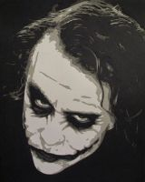 Joker - Heath Ledger by Papergizmo