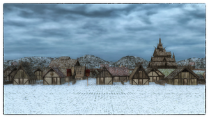 Winter Village by Vaskania