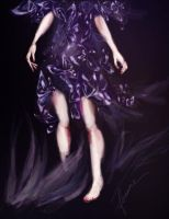 the violet dress by feanne