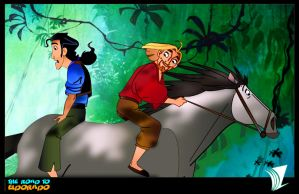 The road to eldorado by deaddevil