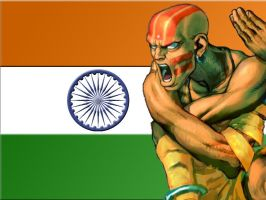 Dhalsim Wallpaper by BadWolf42