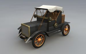 Old car model by cr8g