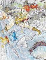 Misty: Steel and Water by Comic-Engine-Alex
