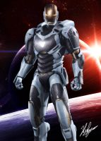 Iron Man Mark 39 - Starboost by neoyurin