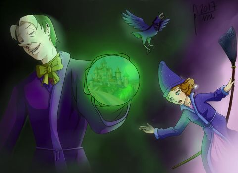 Day of the sorcerers - Cedric's bad choice by Gini-Gini
