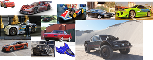Collage Of Cool Vehicles 2 by Harejules