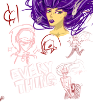 doodle dump: Fabeio edition by FoodStamps1
