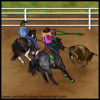 Spanky Player - LHR Roping Event by painted-cowgirl