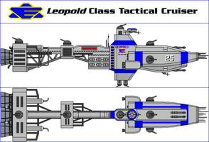 Leopold Class Tactical Cruiser by MarcusStarkiller