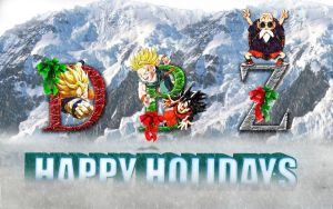 DBZ Holidays by Photshopmaniac