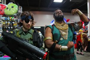 The Big Boss and Mr. T by Hayabusa72